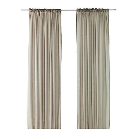 ikea cutains ikea vivan curtains drapes beige 2 panels mushroom taupe