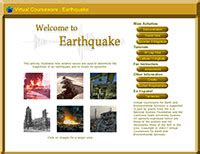 earthquake virtual lab earth environmental science