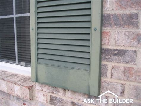 Painting Vinyl Shutters by Painting Vinyl Shutters Ask The Builder