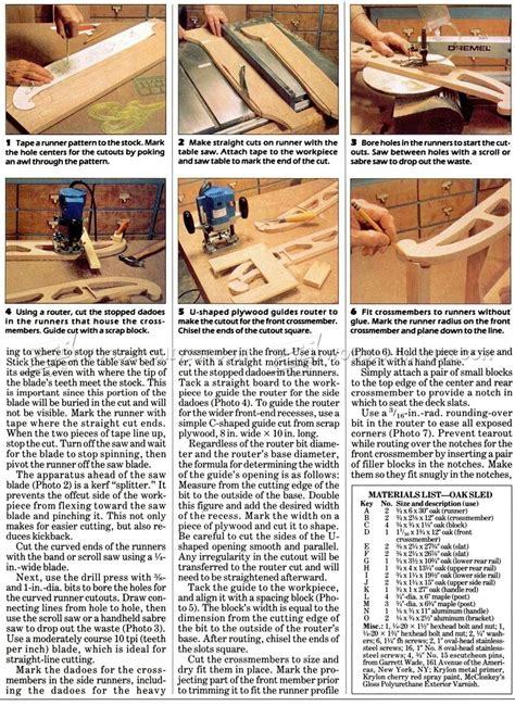 sle blueprints snow sled plans woodarchivist