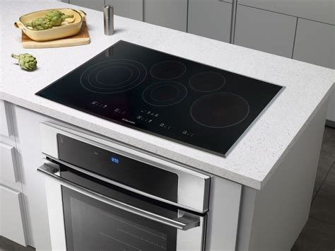 Wolf Drop In Cooktop - electrolux ei36ec45kb 36 quot drop in electric cooktop black