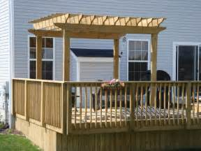Photos Of Pergolas On Decks by Deck Pergolas Pdf Plans Build Your Own Deck Chair