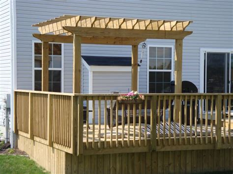deck pergolas pdf plans build your own deck chair