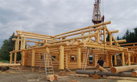 log cabin construction constructing your log home or cabin log home process