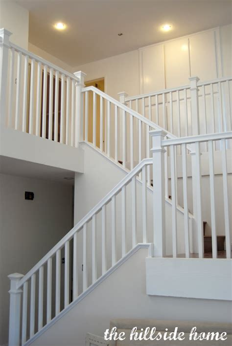 banister stair remodelaholic top ten stair makeovers and link party