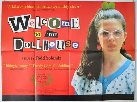 doll house movie welcome to the dollhouse original cinema movie poster from pastposters com british