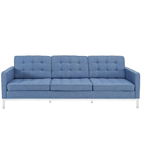reproduction sofas florence sofa reproduction fabric the modern source
