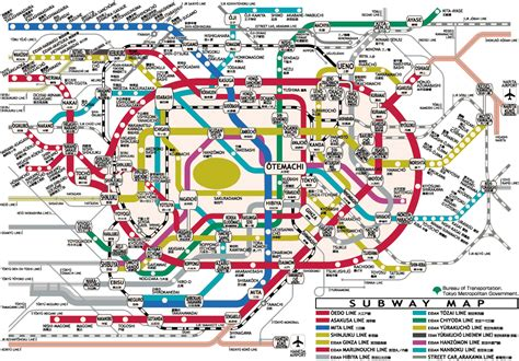 map of tokyo tokyo subway map pictures map of tokyo city pictures