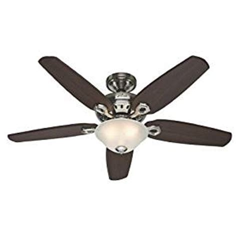amazon ceiling fan remote fairhaven 52 in brushed nickel ceiling fan with