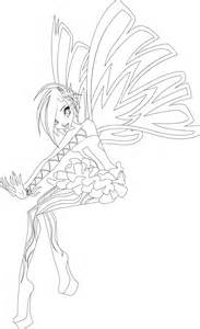winx club bloom enchantix free coloring pages on art