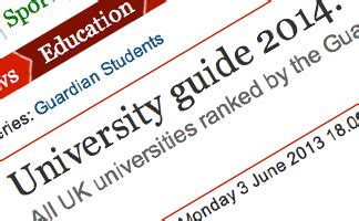 Uk Mba Rankings Guardian by How To Deal With A Knock In League Table