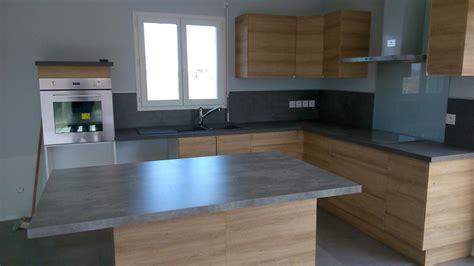 pose d une cuisine 駲uip馥 pose d une cuisine avec fa 231 ade en stratifi 233