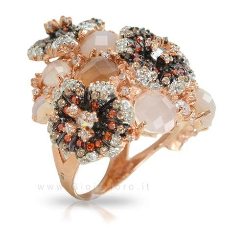 anelli con fiori anello fiori gioielli samui in argento e pietre preziose