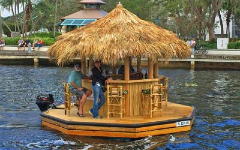 Buy Tiki Bar You Ve Seen This Tiki Bar Boat Before Well Guess What