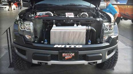hellion power systems ford svt raptor/f 150 6.2l twin