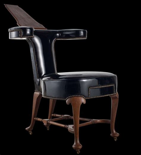 writer s chair writers leather chair at 1stdibs