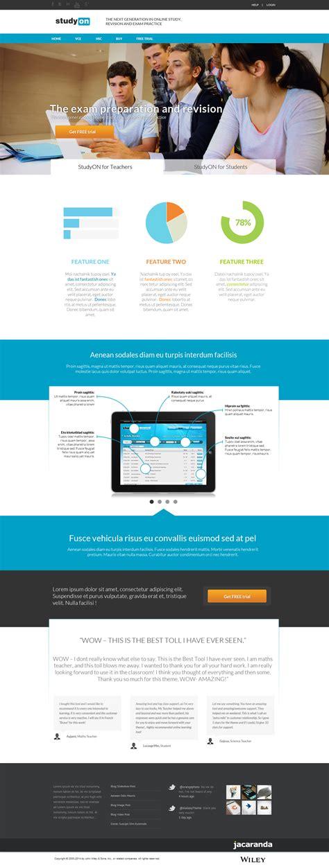 design online exam website school students exam practice application tool web design