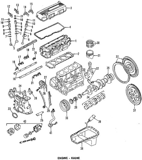 nissan pickup 1997 engine 1997 nissan pickup engine diagram 1997 free engine image