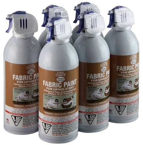 where to buy simply spray upholstery paint simply spray upholstery fabric spray paint 6 pack camel