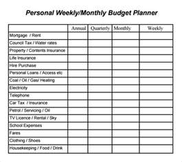 Budget Plan Template Free Budget Planner Template 8 Free Download For Pdf Excel