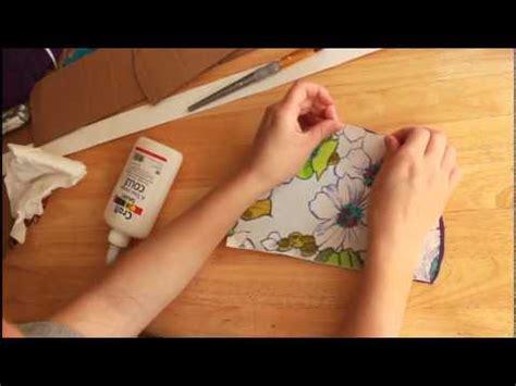 como hacer una alfombra con retazos de tela todo como hacer una caja de carton forrada con tela youtube