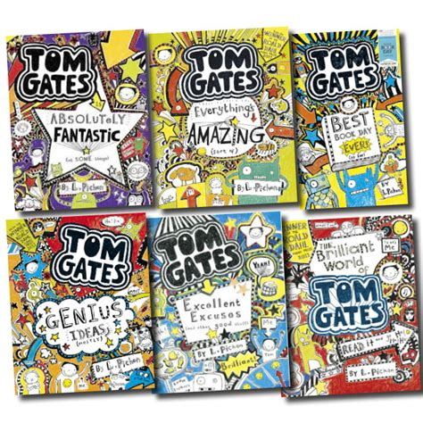 gate books tom gates collection liz pichon 6 books set absolutely