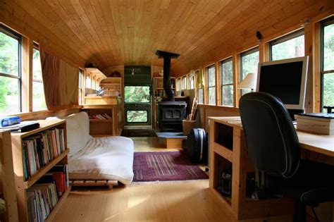 Lovely Renovating A Barn Into A House #8: School-bus-conversion-into-mobile-home-4.jpg