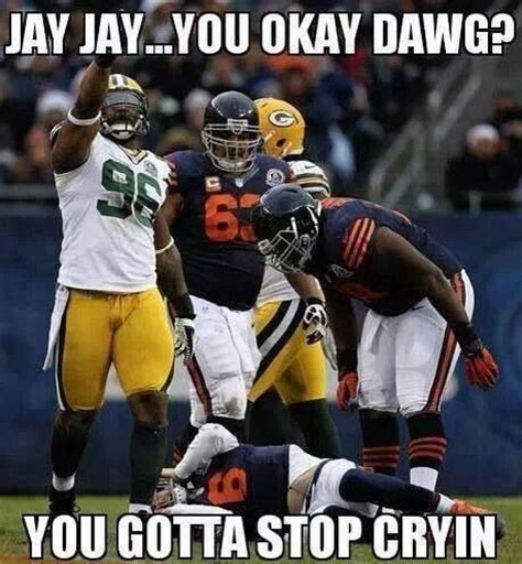 Bears Packers Meme - 1000 images about making fun of the bears on pinterest