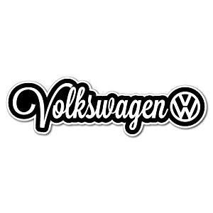 Volkswagen Decals by Volkswagen Sticker Vw Vinyl Decal Decals Bumper