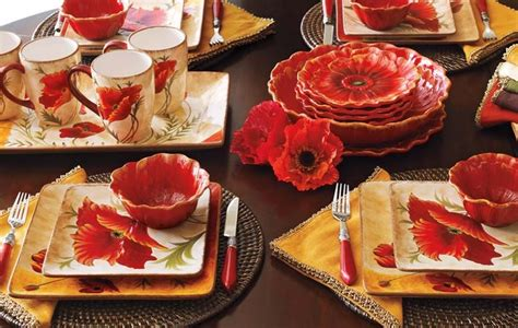 poppy dishes beautiful dishes pinterest poppies