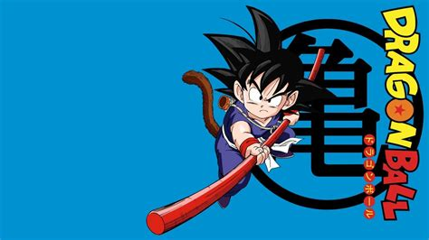 wallpaper dragon ball bergerak kid goku wallpapers wallpaper cave
