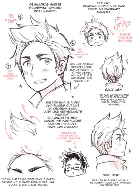 doodle tips denmark s hair by cioccolatodorima on deviantart
