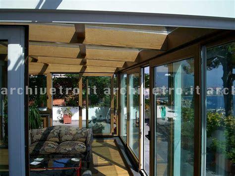 copertura veranda in legno copertura in vetro per veranda struttura in legno