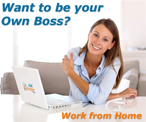 be your own work from home with max aussie team