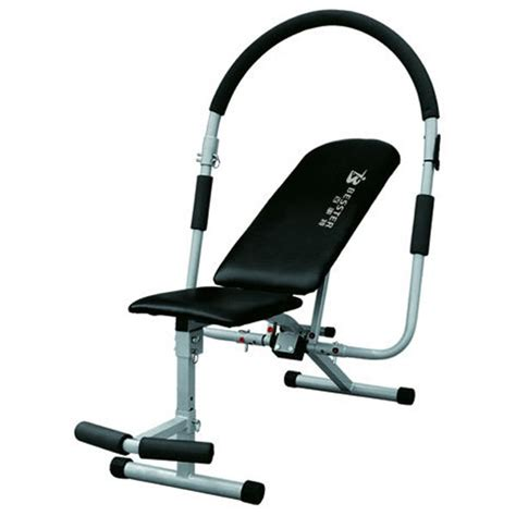 fitness gear ab bench js 005 ab sit up exercise equipment abdominal bench muscle