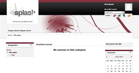 moodle theme splash moodle in english slash theme fonts problem everything is