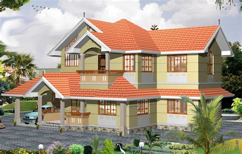 home design 2000 sq ft traditional 3 bhk kerala villa design at 2000 sq ft