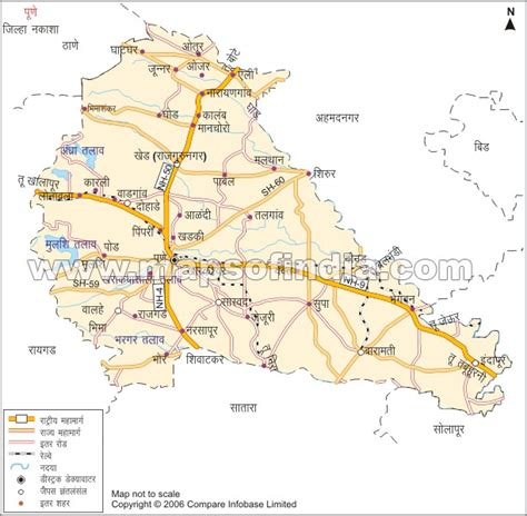 city map of pune pune map