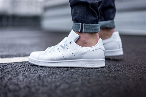 Adidas Stan Smith White adidas just dropped all white stan smiths le vrai chic