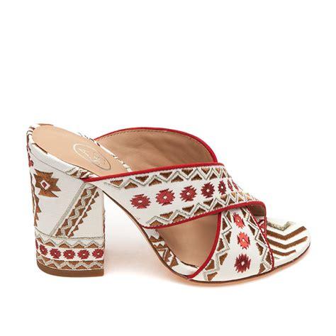 ash adel sandal white coral fabric ash s sandals