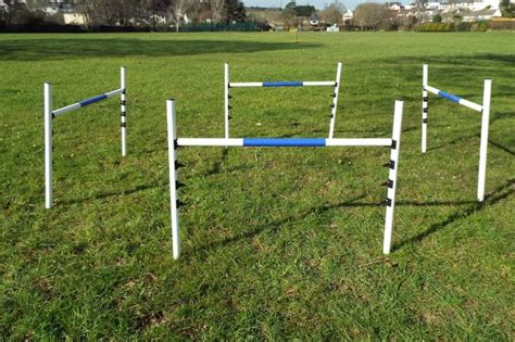 agility jumps 4 x maintenance free jumps agility equipment uk seller