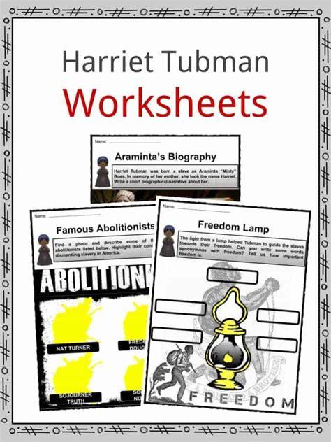harriet tubman biography for students harriet tubman worksheet calleveryonedaveday