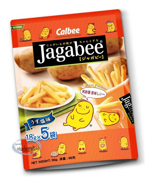 Calbee Jagabee And Jagariko Potato calbee jagabee potato stick snack tv snacks chip snacks home