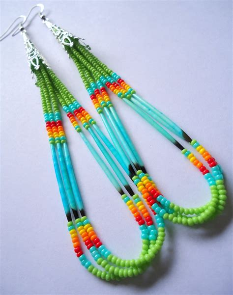 how to make american beaded earrings 137 best images about beading american indian