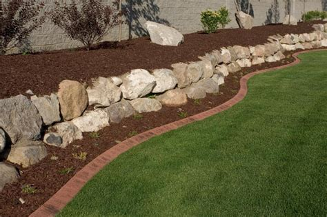 Rock Edging For Gardens Garden Edging Kerbing