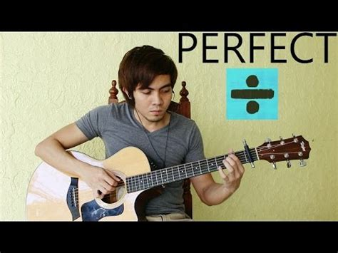ed sheeran perfect fingerstyle perfect ed sheeran fingerstyle guitar cover youtube