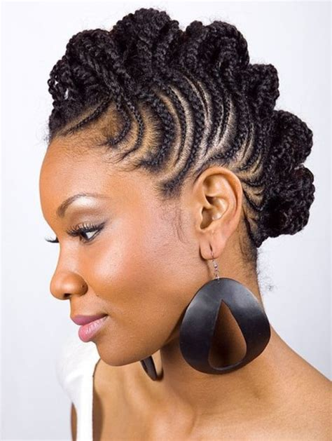 braided hairstyles in a mohawk mohawk hairstyles for black women top 10 mohawk