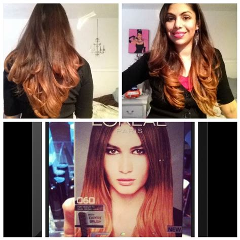preference wild ombre on short hair loreal wild ombre hair tutorial for dark brown hair full