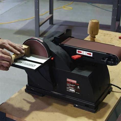 bench top belt sander craftsman disc sander bench top belt wood sanding tool