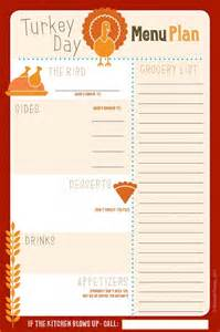 thanksgiving meal planner template thanksgiving meal plan free printable autumn escapes in